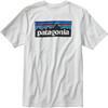 Patagonia M's P-6 Logo Cotton T-Shirt White